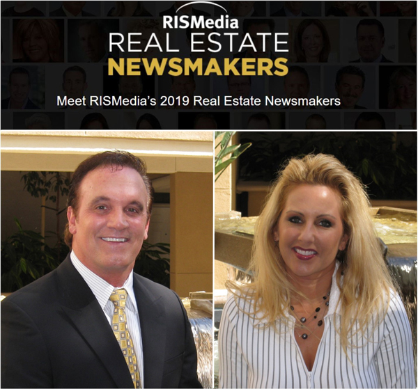 Dennis and Teresa Walsh Named RISMedia 2019 Real Estate Newsmakers