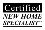 Learn about Certified New Home Specialist New Home Sales Designation Training Logo